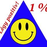 1 % esély a pozitív életre
